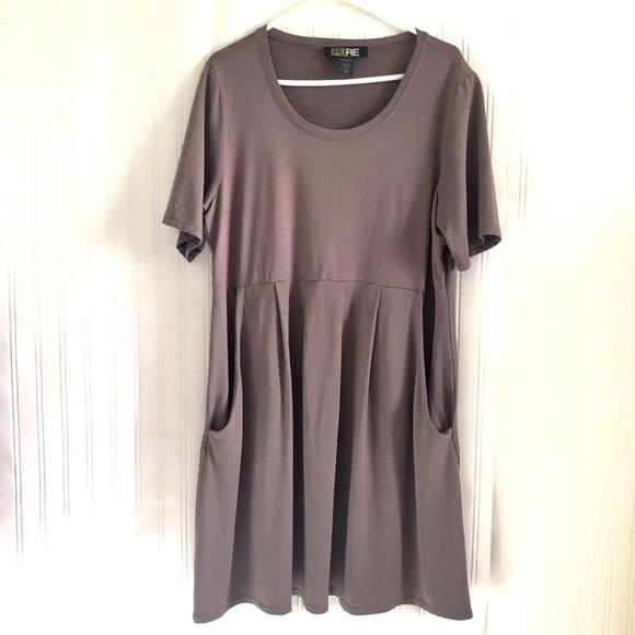 Pure Dresses & Skirts - PURE ESSENCE Brand pleated dress